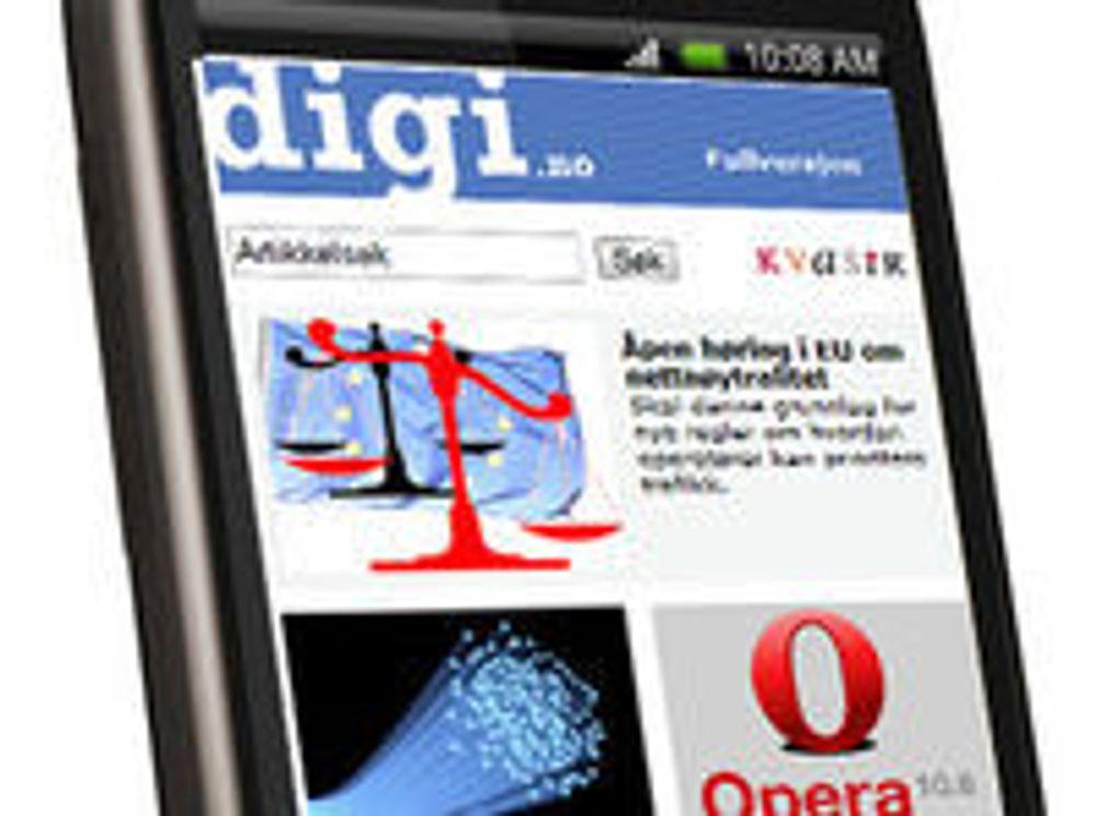 Les digi.no på mobilen i sommer