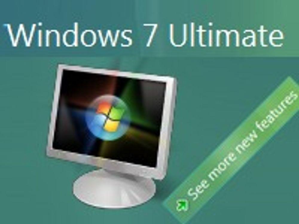 Microsoft deler ut Windows 7 i oktober