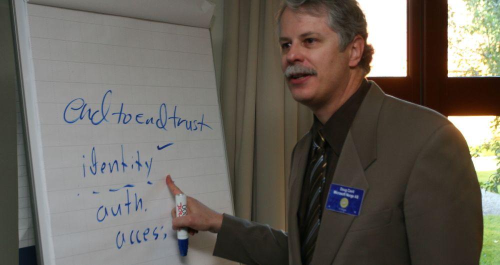 Doug Cavit, sjefsstrateg for Trustworthy Computing hos programvaregiganten Microsoft