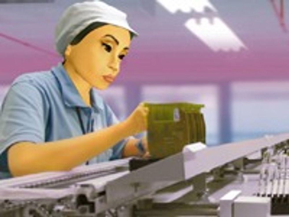 Elendige forhold i mobil-produsentenes fabrikker