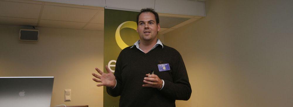 Knut Magne Risvik i Google Norge mener tiden for nettskyer nå har kommet.