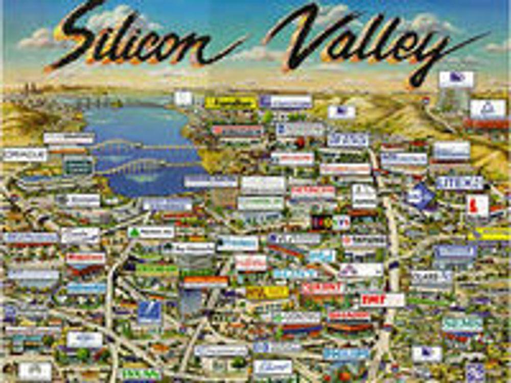 Finanskrisen viker unna Silicon Valley