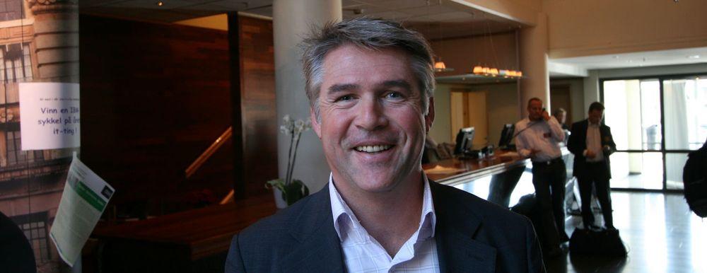 Bekk-sjef Olav Folkestad åpner nytt kontor i Trondheim.