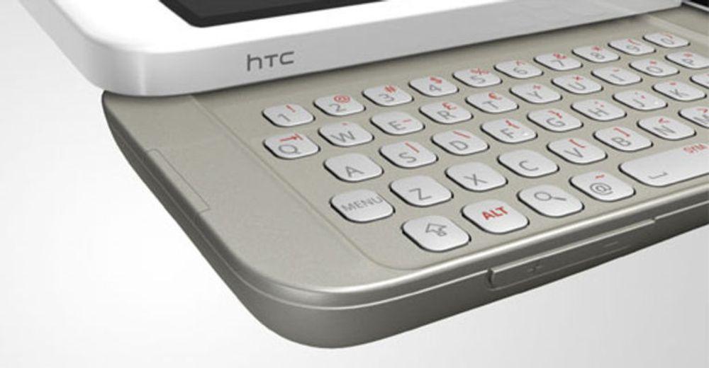 T-Mobile G1 med utskyvbart tastatur