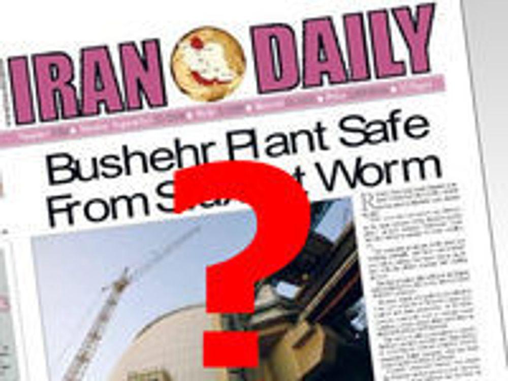 Testet Stuxnet-ormen i Israel