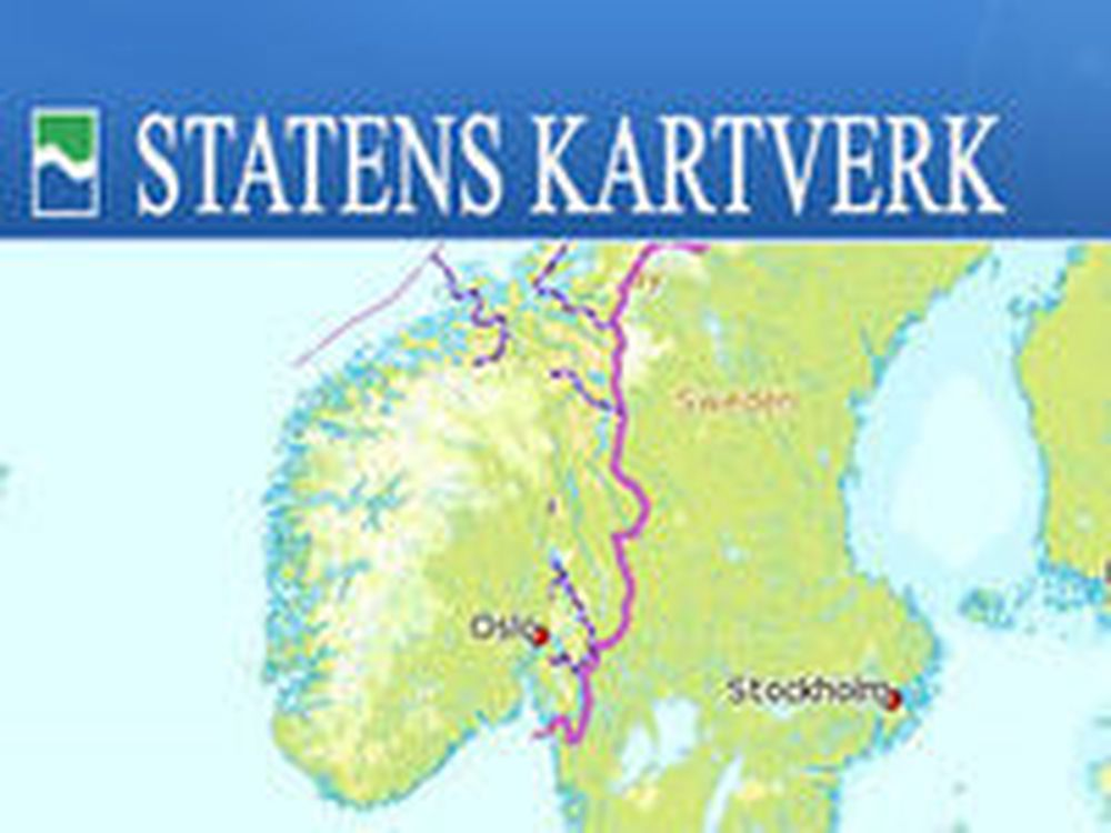 Bruk Kartsverkets kart på egne nettsteder