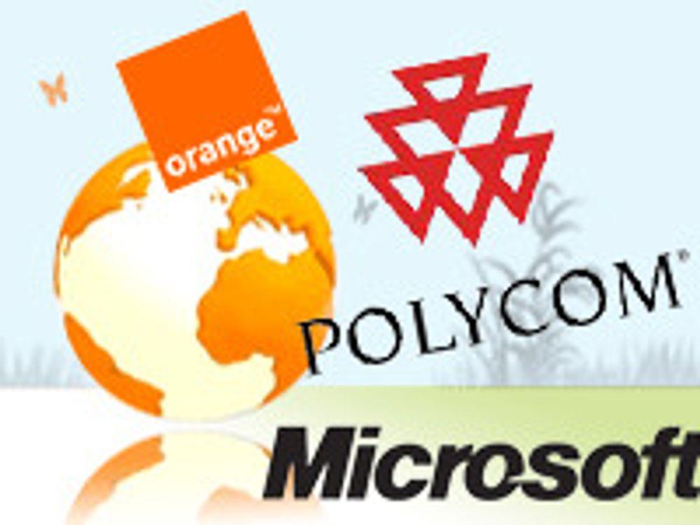 Pakkeløsninger av Polycom og Microsoft Lync