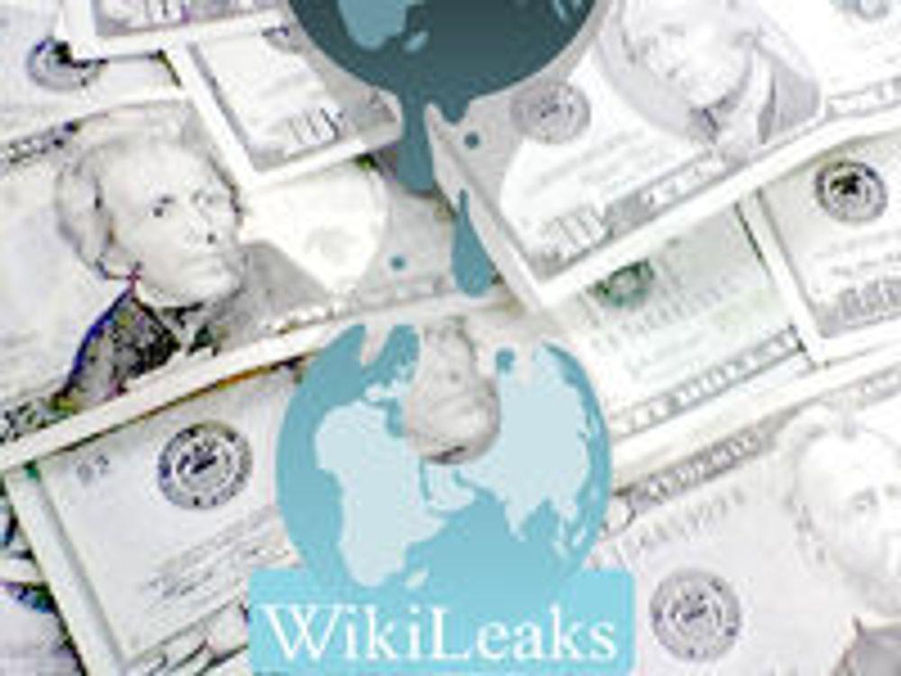 Sårbare finanser i Wikileaks