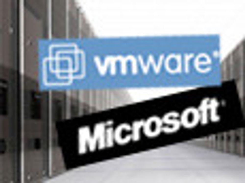 VMwares hypervisor er sertifisert av Microsoft