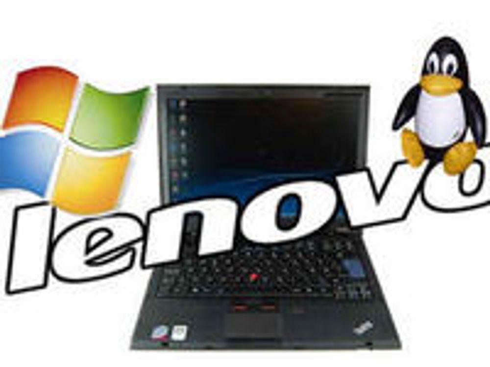 Lenovo ville dysse ned Windows-retur