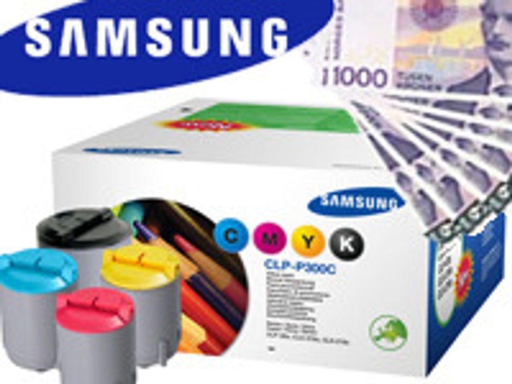 Samsung anmeldes for toner-bløff