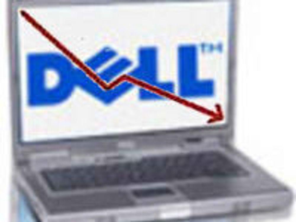 Børsen sjokkert over nedtur hos Dell
