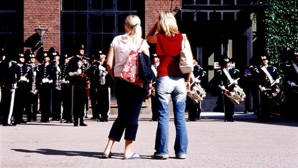 Høgskolen i Oslo, illustrasjonsbilde. Foto: Ellen Lorenzen