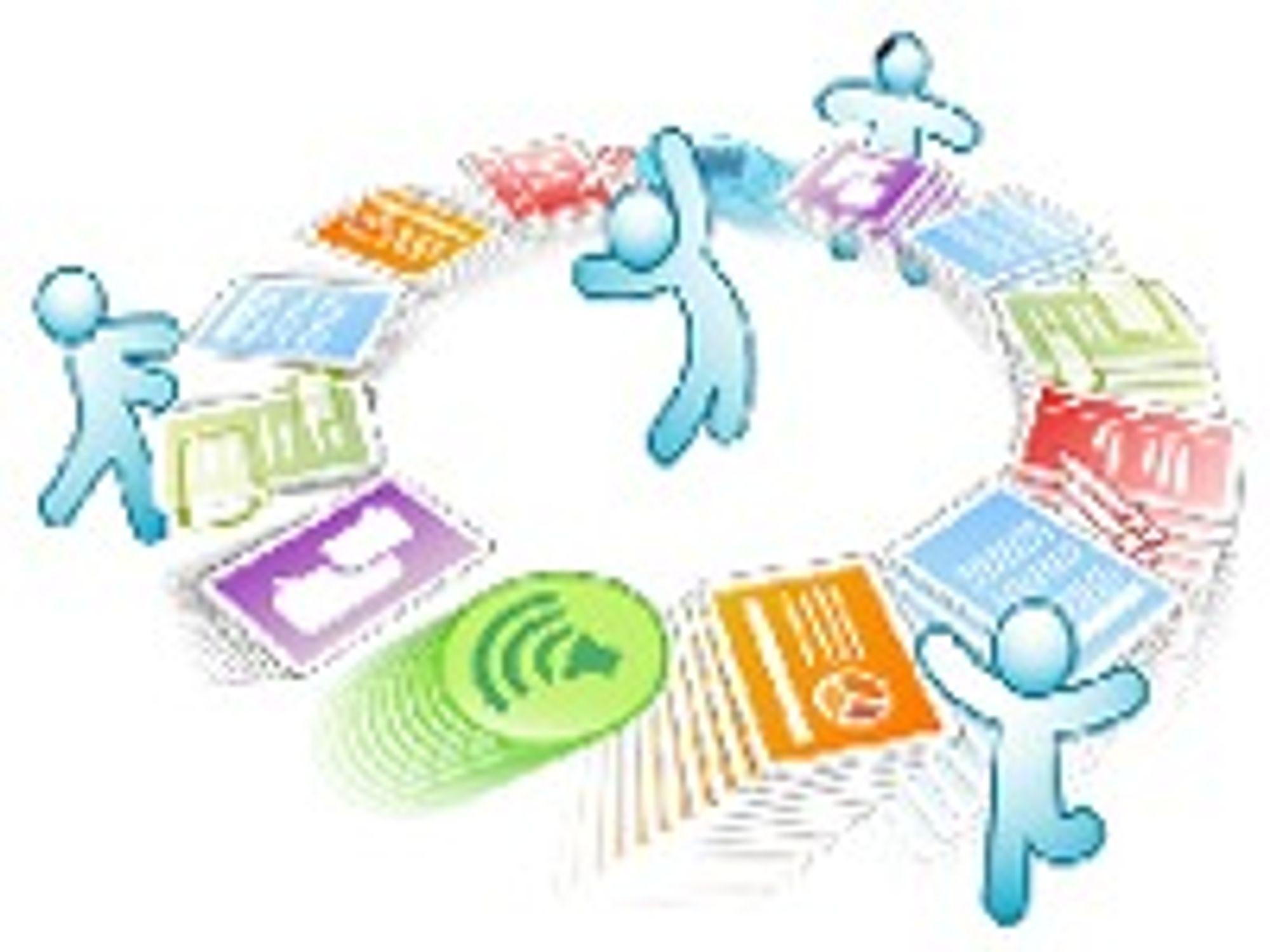 Flere skal samarbeide om å lage et dokument. Et dokument behøver ikke nødvendigvis være skapt i bare et tekstverktøy, et regneark eller et presentasjonsprogram.