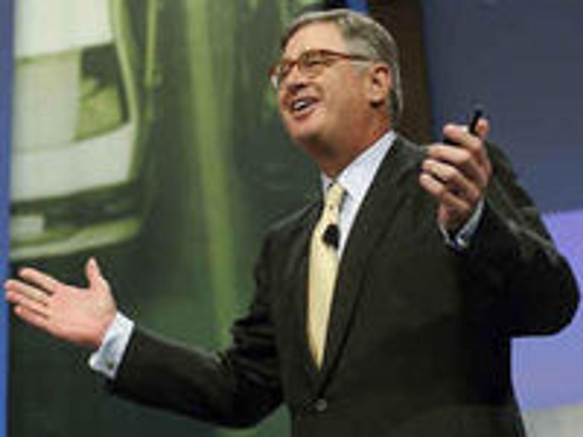 Under Sam Palmisano leverte IBM rekordomsetning og rekordresultat i 2008.