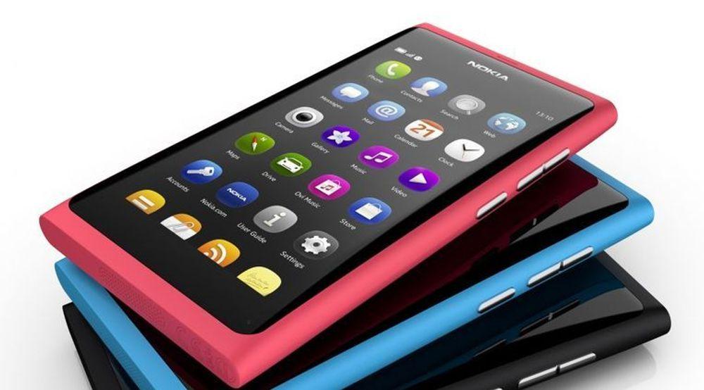 Nokias MeeGo-baserte N9-mobil.