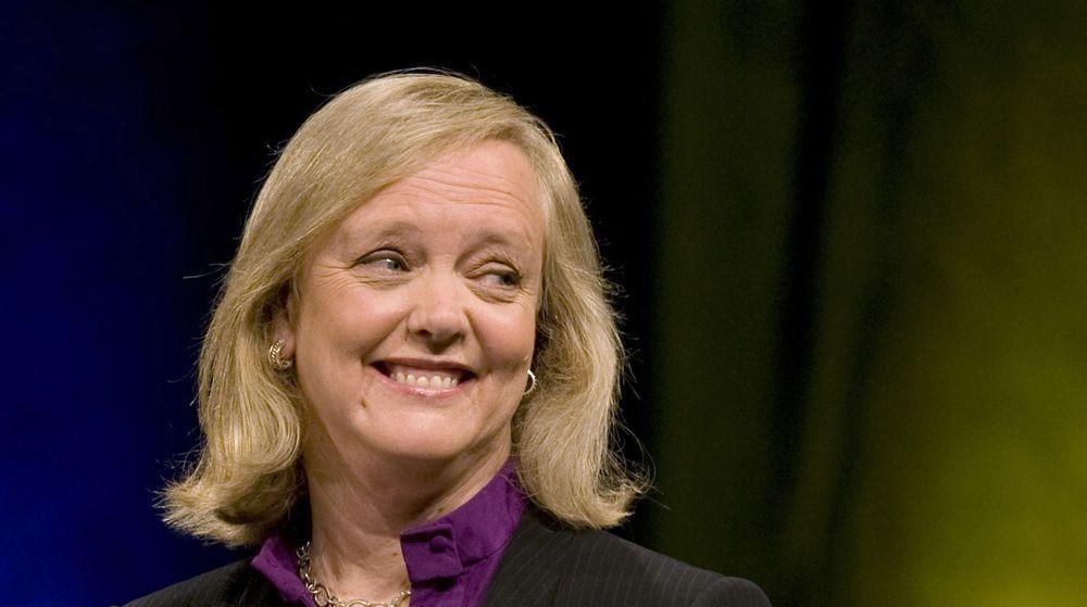 Meg Whitman tar over som ny toppsjef i Hewlett Packard etter Leo Apotheker, som fikk sparken denne uken. Whitman er en omstridt leder etter at hun mislykkes i å bli guvernør i California etter å ha brukt over 140 millioner dollar av egne lommer i kampanjen.