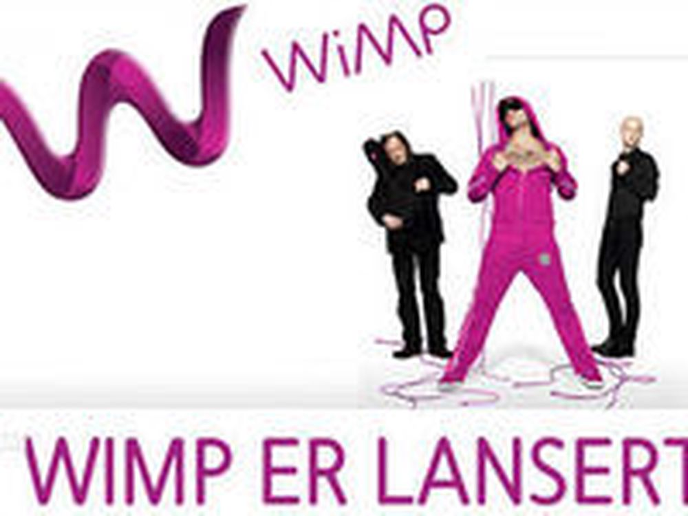 Wimp lansert i sakte film