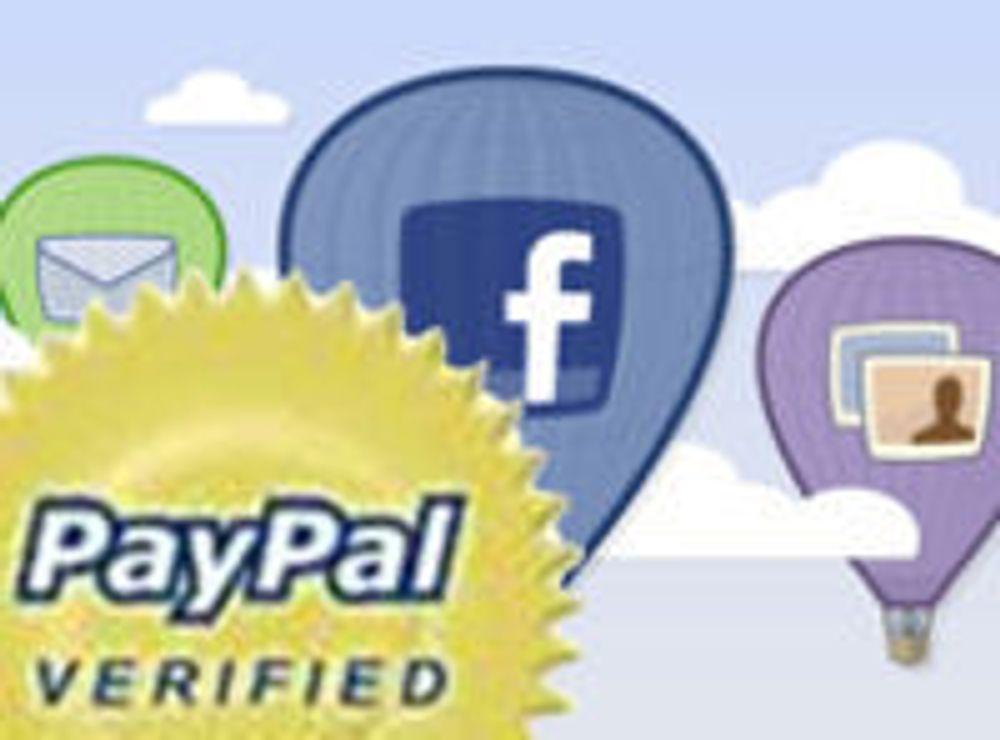 Facebook valgte Paypal til betalingspartner
