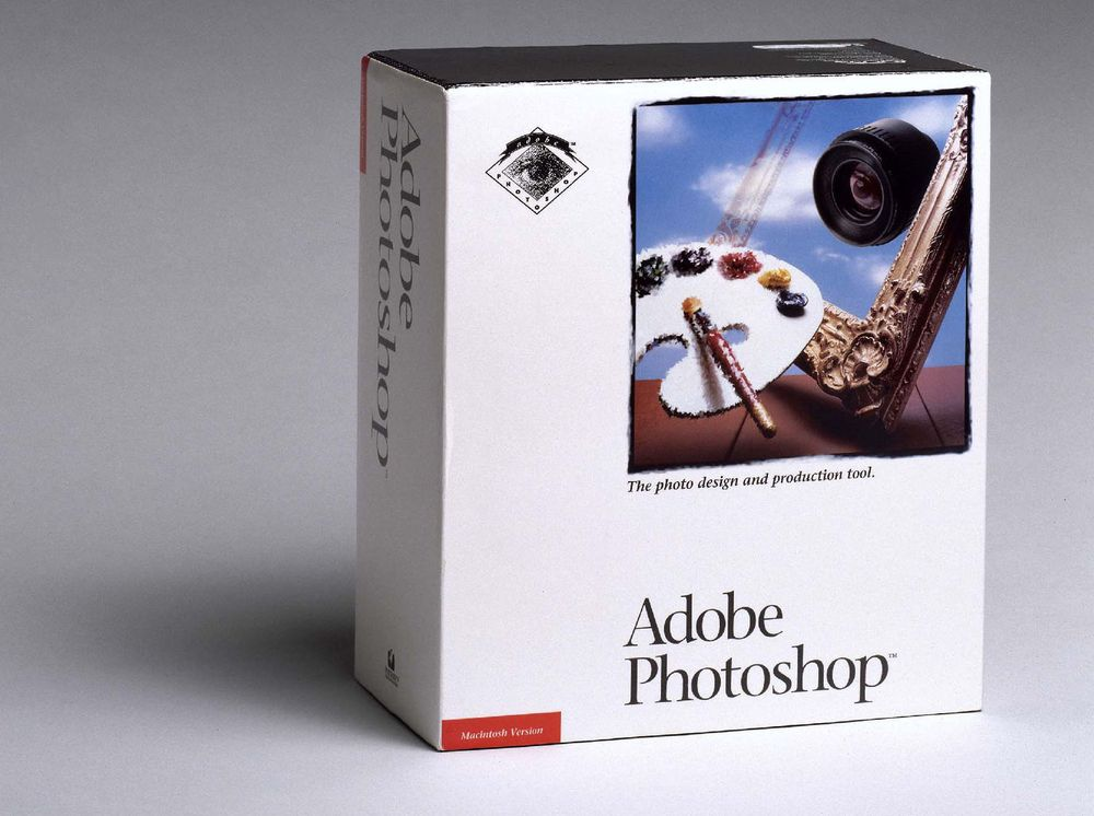 Esken til Adobe Photoshop 1.0