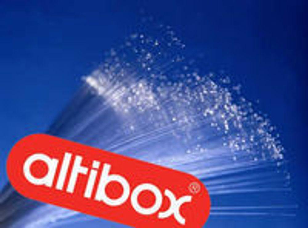 Altibox øker farten med 700 prosent