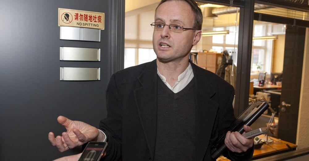 Norsk nettleser til iPhone: Apple er rigide, men nå er vi innenfor, sier teknologidirektør Håkon Wium Lie i Opera Software til digi.no.