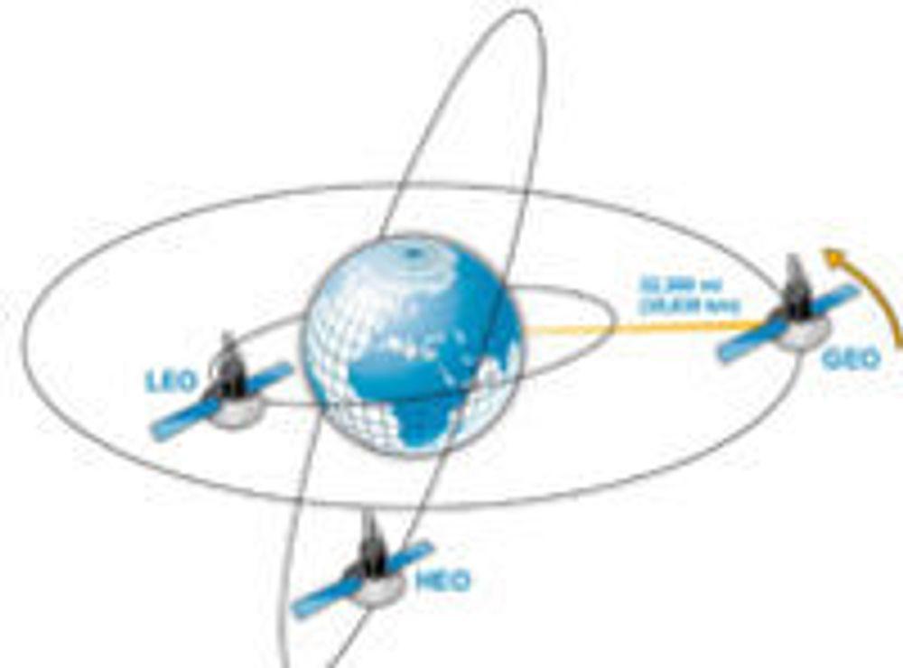 Leonardo Nve mener alle typer satellitter med datakommunikasjon er sårbare for angrep.