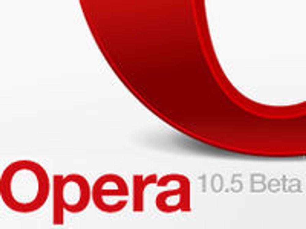 Lover fartsrekorder med ny Opera
