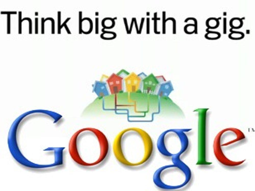 Google bygger superbredbånd