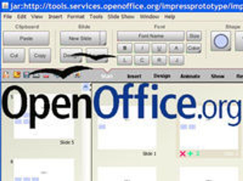 OpenOffice på hver femte pc i Norge