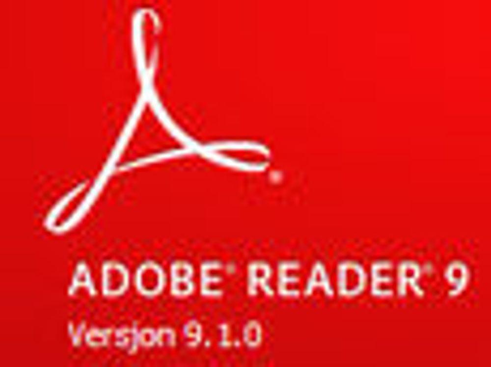 Adobe sprer foreldet PDF-leser