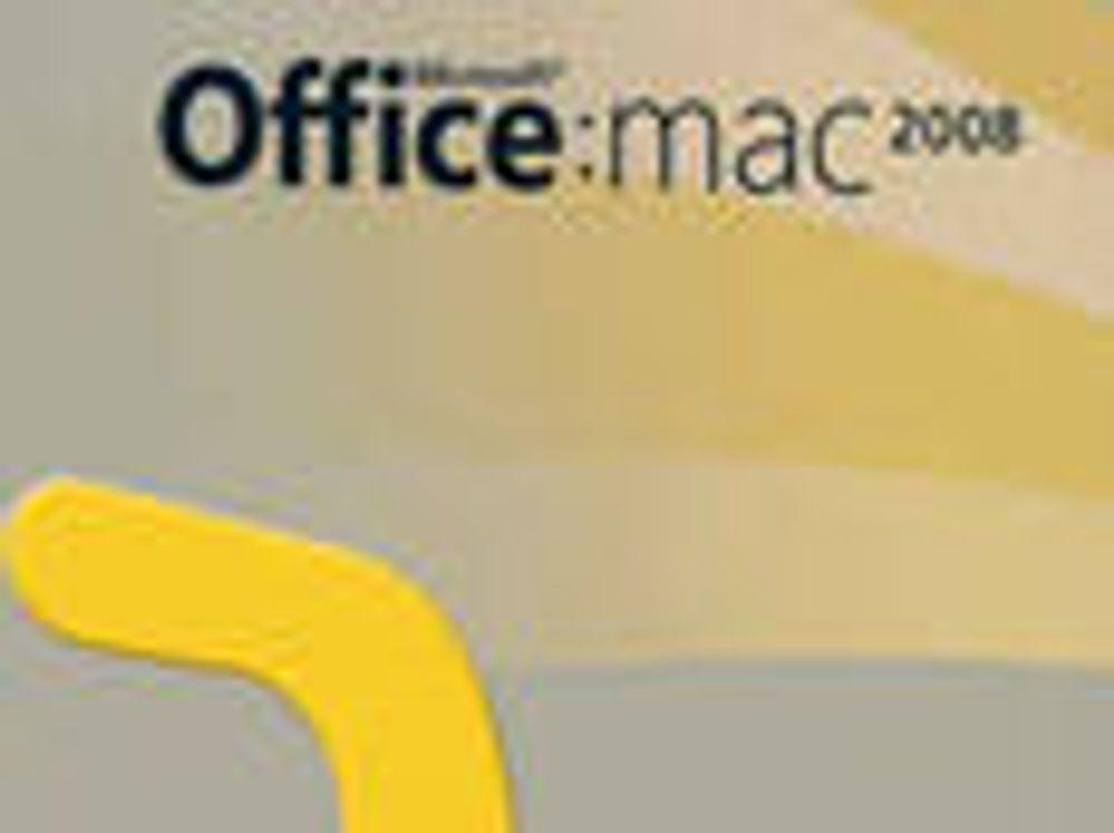 Ny servicepakke til Office for Mac