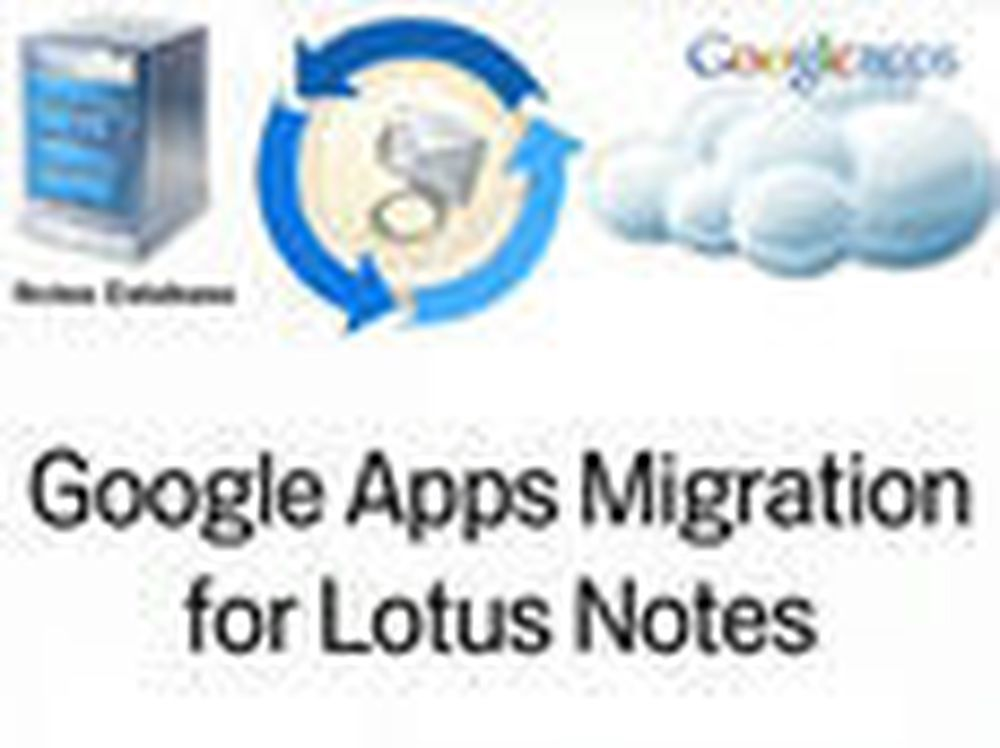 Enklere flytting fra Notes til Google Apps
