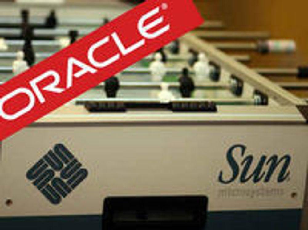 Sun-aksjonærene sier «ja» til Oracle