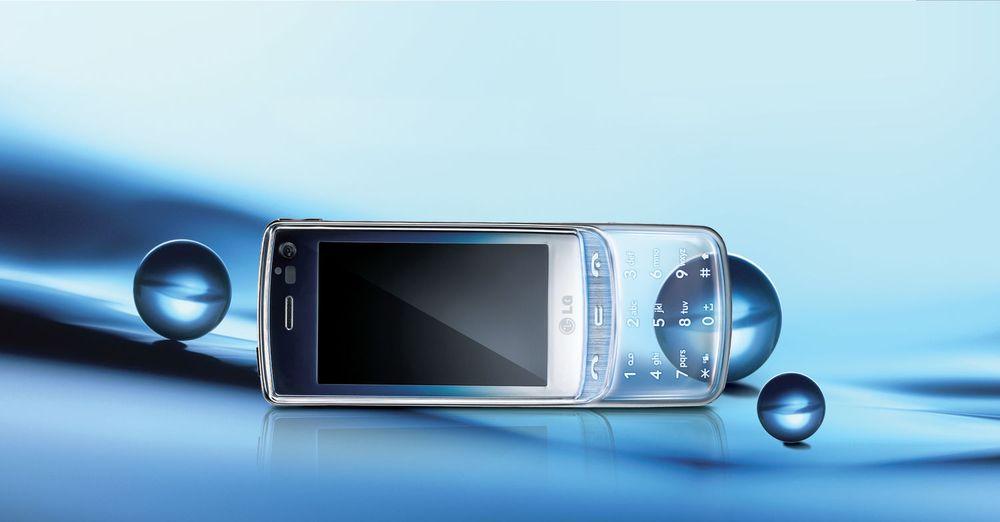 3G-mobilen GD900 Crystal kommer til norske butikker i løpet av juli. (foto: LG Electronics)