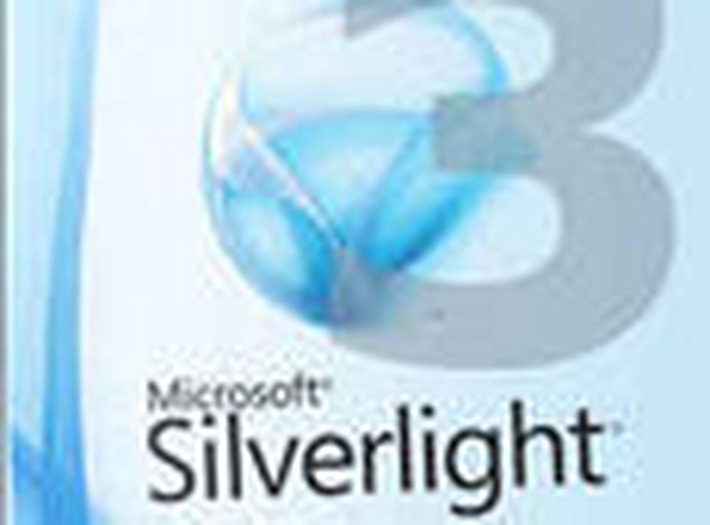 Silverlight 3 er klar for nedlasting