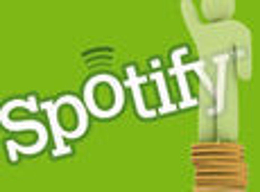 Spotify verdsettes til 2,1 mrd
