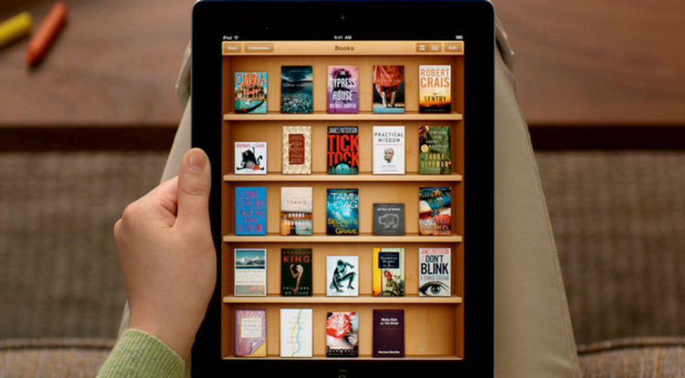 iPad-applikasjonen iBooks gir tilgang til 200 000 titler i iBookstore.