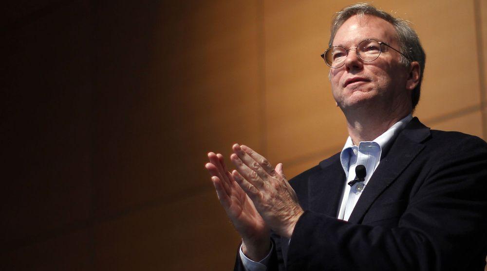 Googles styreformann Eric Schmidt skal prøve å avverge straffetiltak og en årelang strid med EU.