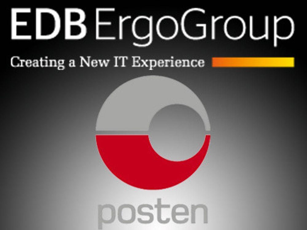 EDB Ergo forlenger avtale med Posten