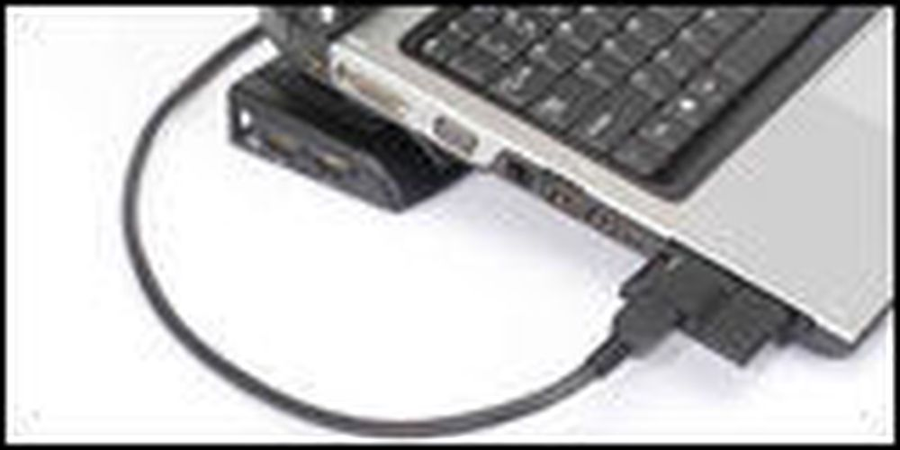 Utvid den bærbare via ExpressCard-porten