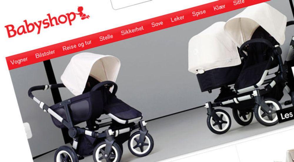 6 347 e-poster til og fra Babyshop var lagt ut på nettet. Selskapet er dypt ulykkelig og lover å rydde opp.