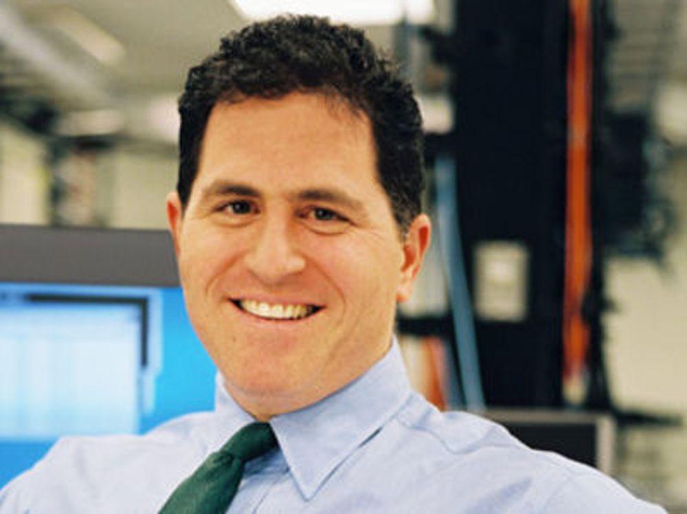 """Michael Dell henter 30 prosent av omsetningen fra """"enterprise""""-avdelingen, og 50 prosent av overskuddet."""