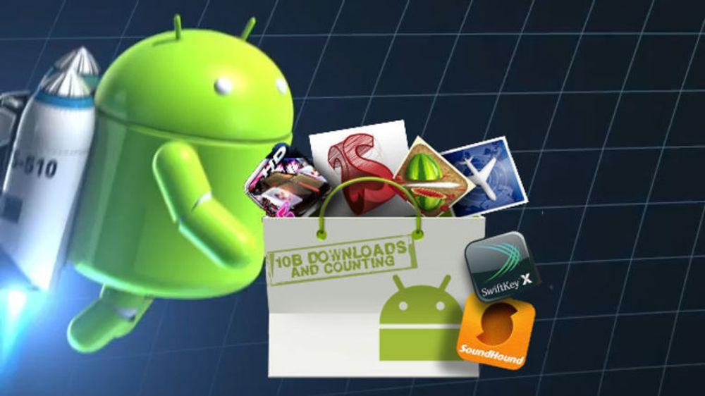 Det lastes ned mer applikasjoner til Android enn noen sinne, men andelen som betaler er lavere enn blant iOS-brukerne.