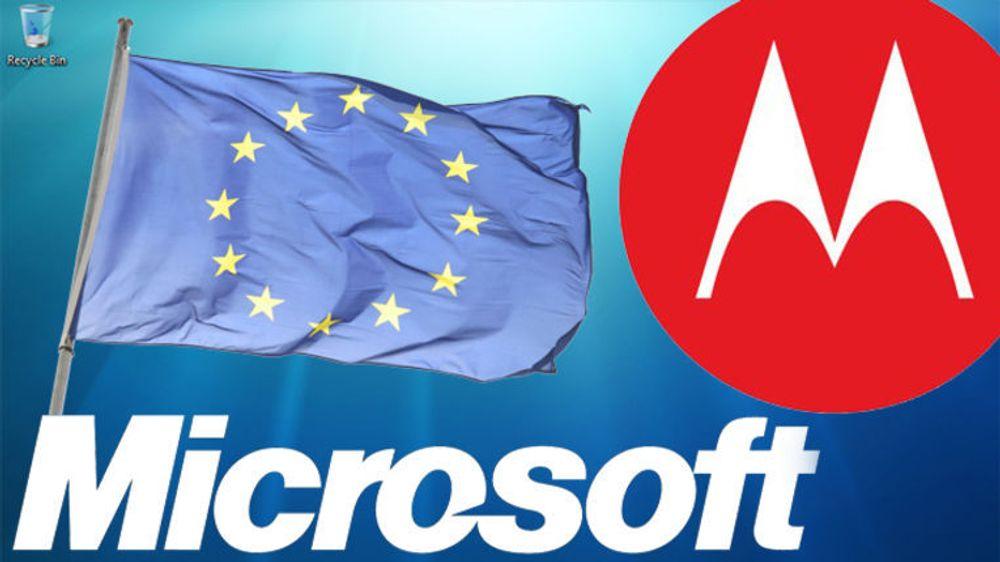 Microsoft har innklaget Motorola Mobility til EU for påstått misbruk av standardessensielle videopatenter.