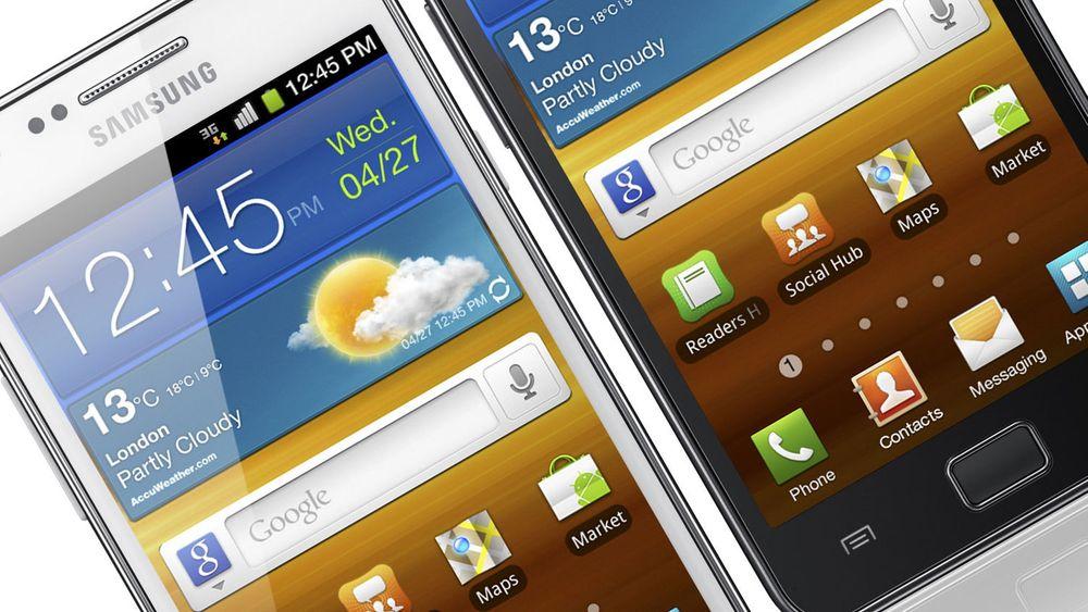Samsung Galaxy S2 var den mestselgende Android-mobilen hos i alle fall NetCom i fjor.