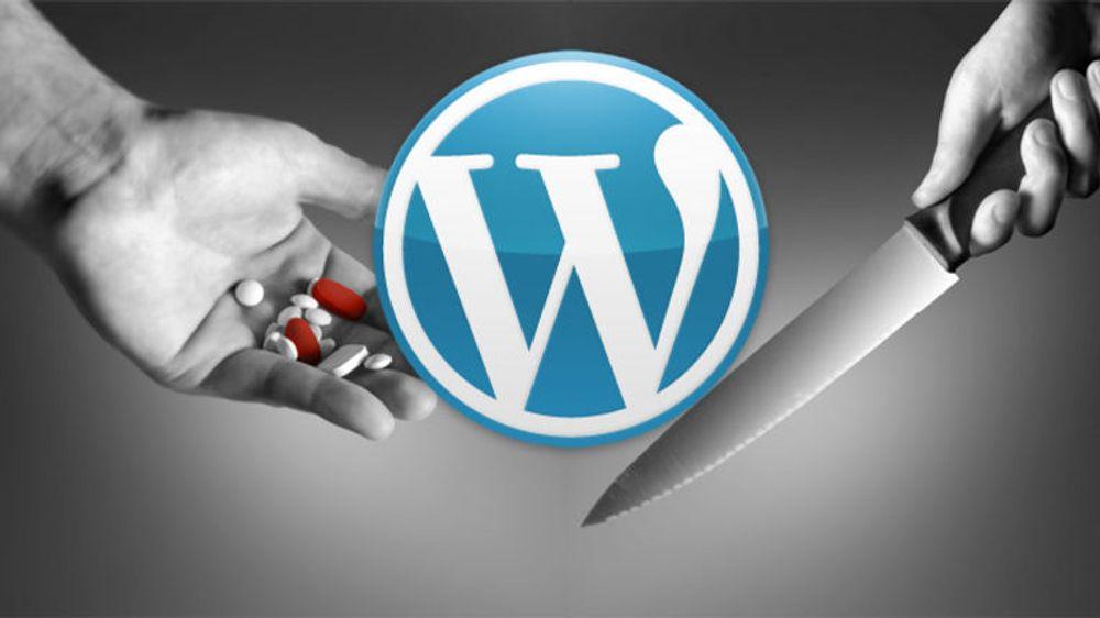 Selger angrep mot Wordpress