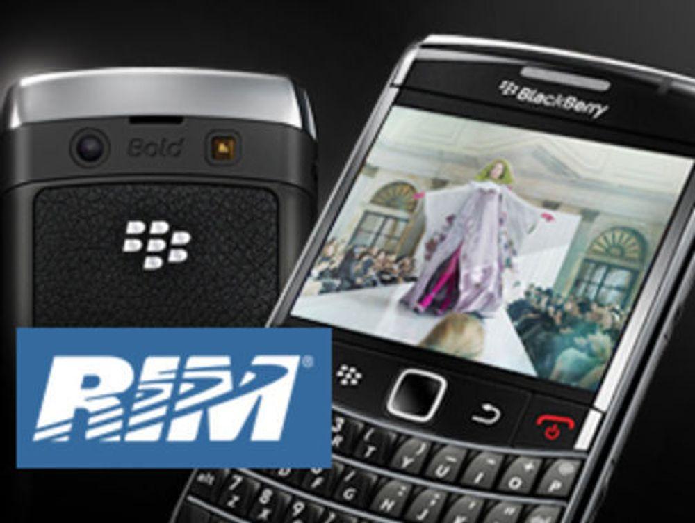 Kraftig vekst for Blackberry-mobiler