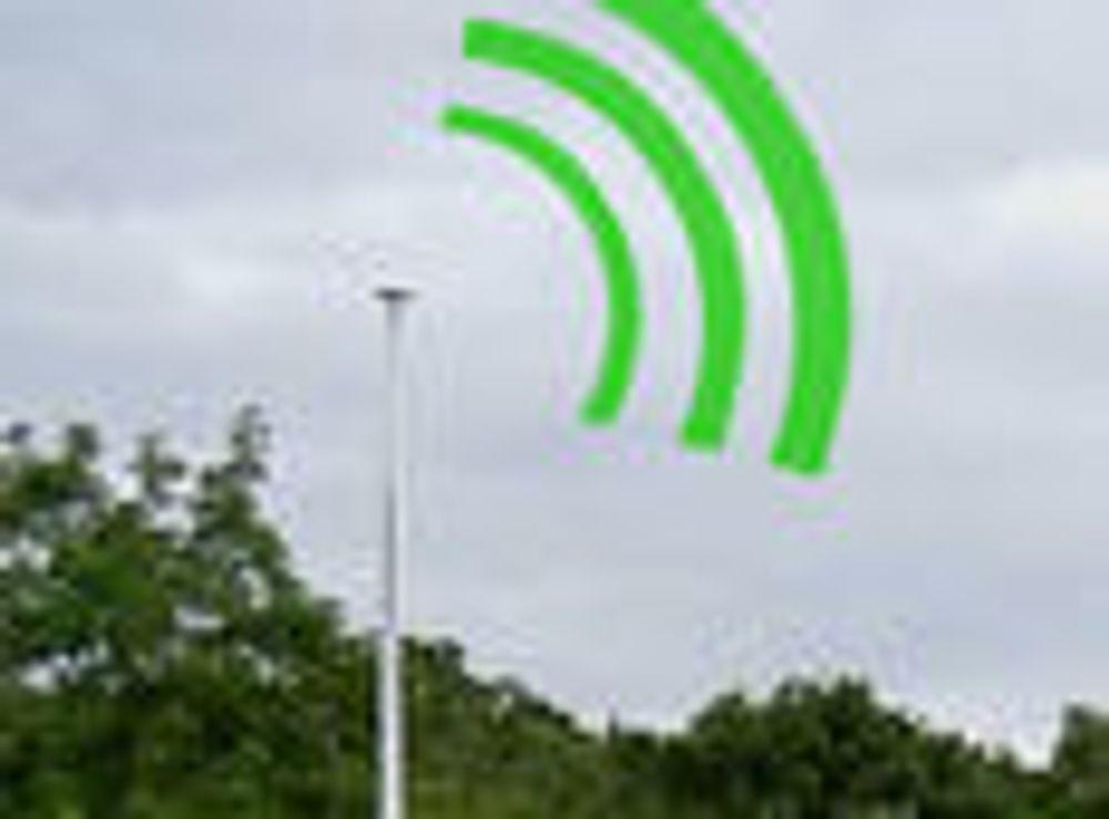 «Flaggstang» er mobilmast