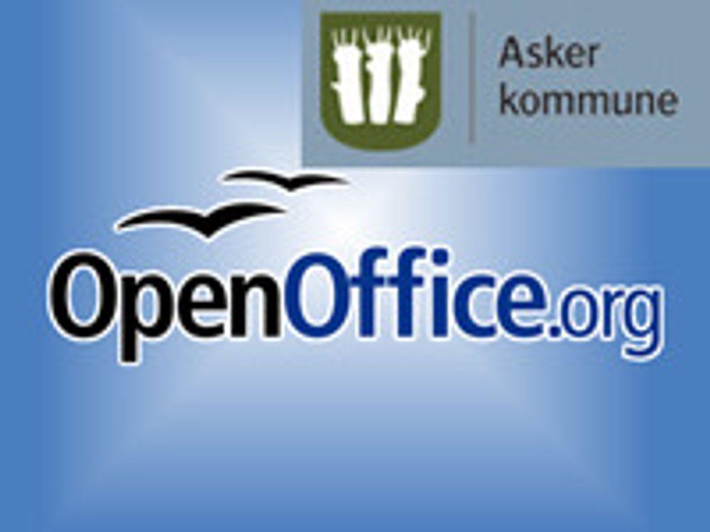 Asker gir opp OpenOffice